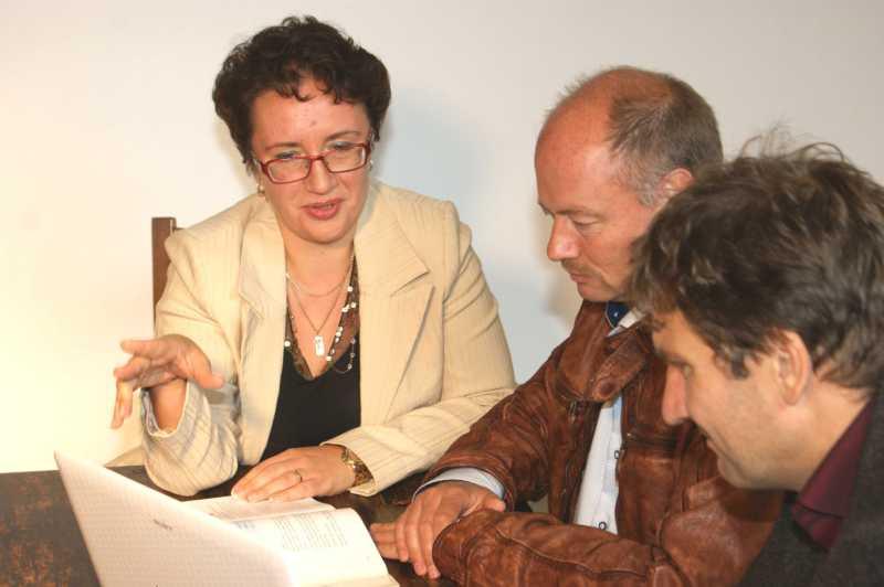 Irina Hansen underviser i russisk